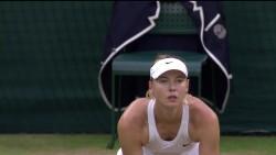 Maria Sharapova - Wimbledon Championships - 6.28.14 *** Leggy Upskirt