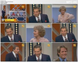 BETTY WHITE *sheer* - making out with the guys - Match Game