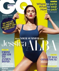 Jessica Alba - GQ UK magazine August 2014