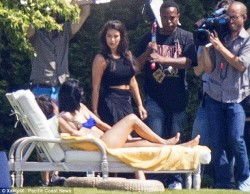 Kendall Jenner and Kylie Jenner Wearing Bikinis in The Hamptons on June 29, 2014