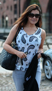 Kym Marsh - Key 103 Radio Station, Manchester, 01-Jul-14