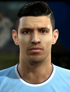 Download Sergio Agüero PES 2013 Face by MagicPro