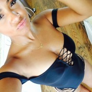 Christina Milian - Twitter Pics In A Swimsuit (7/6/14)