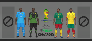 Download Cameroon WC 2014 Kits by Wuguernalt