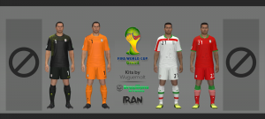 Download Iran WC 2014 Kits by Wuguernalt