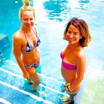 SHARON CASE *recent bikini pix*