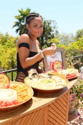 Christina Milian  - Swimsuit - Hosts a party at the Kia Motors Malibu Estate 05.07.2014 [24 HQ]