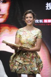 Nina Dobrev - a fan meeting in Beijing 7/4/14