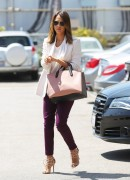 Jessica Alba - Arriving at her office in Santa Monica 7/9/14