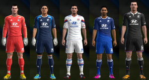 Download PES 2013 Olympique Lyon 14-15 Kits by Ramz