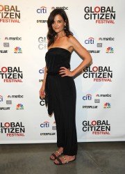 Katie Holmes -Third Annual GLOBAL CITIZEN FESTIVAL Launch Party in NYC 7/10/14