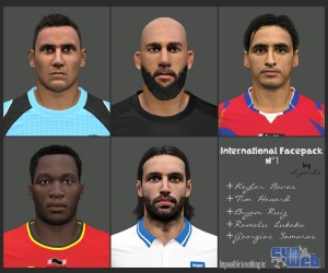 Download PES 2014 International Facepack N°1 by el_pocho