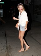 Taylor Swift - Leaving her Apartment 7/10/14 Leggy!