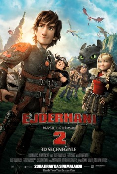 Ejderhanı Nasıl Eğitirsin 2 / How to Train Your Dragon 2 (20/06/2014)