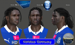 Download PES 2014 Kebba Ceesay Face by ZIUTKOWSKI