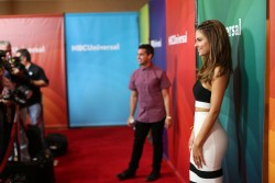 Maria Menounos at NBCUniversal's 2014 Summer TCA Tour in Beverly Hills on July 14, 2014