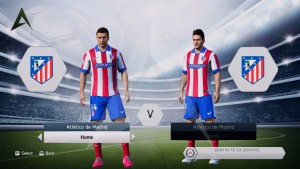 FIFA 14 Atletico Madrid Home Kit 14-15 by AlexDesigns