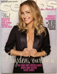 Hayden Panettiere in Celebs on Sunday Magazine - August 16, 2009