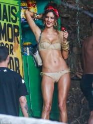 Alessandra Ambrosio - Photo Shoot in Rio de Janeiro 7/17/14