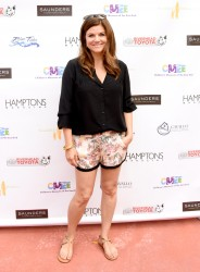 Tiffani Thiessen CMEE 6th Annual Family Fair in Bridgehampton 07-19-2014