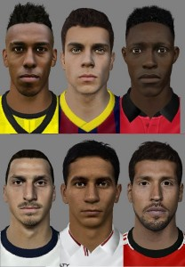 New Super Patch of Faces 5 for FIFA 14 by Son-of-God