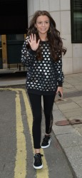 Cher Lloyd out and about in London 07-19-2014