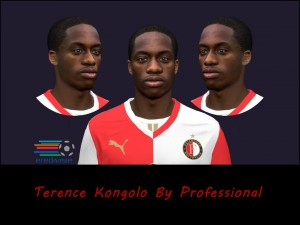 Download PES 2014 Terence Kongolo Face by Professional