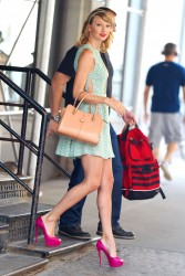 Taylor Swift out in New York City 07/22/14