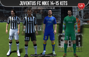 FIFA 14 Juventus FC Nike 14-15 Kits by Mateus Guedes