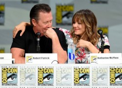 Katharine McPhee - 'Scorpion' Comic-Con Panel - 17HQ +ADDS