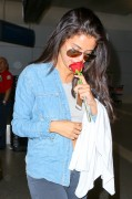 Selena Gomez - At LAX Airport 7/24/14
