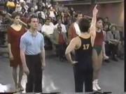 Roxann Dawson - A Chorus Line on Geraldo, 1990 (leotard)