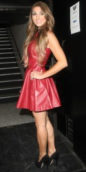 Luisa Zissman leggy at the Bloggers Love Collection Fashion Show at the Penthouse 8/22/13