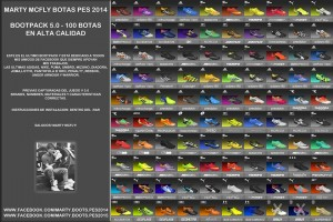 Download Bootpack 5.0 by MartyMcFly For PES 2014