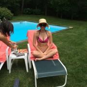 Iliza Shlesinger - Bikini Instagram Pic 7/26/14
