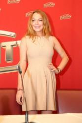 Lindsay Lohan Weisses Fest in Linz 07-26-2014