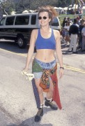 Dina Meyer - 5th Annual 'A Time for Heroes Celebrity Carnival' 4.6.1994 (sports bra)