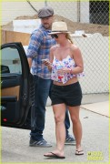 Britney Spears - Leaving a dermatology center in Westlake 7/27/14