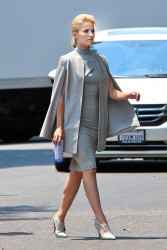 Dianna Agron - set of 'Headlock' in Beverly Hills - July 29, 2014
