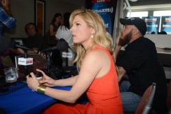 Katheryn Winnick SiriusXM Broadcasts from Comic-Con 07-25-2014