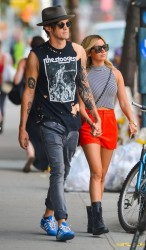 Ashley Tisdale - Out & About in NYC 7/30/14