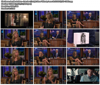 Jennifer Aniston - Tonight Show With Jay Leno 29.07.2010 1080i or 720p