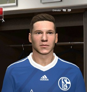 Download PES 2014 Julian Draxler Face by emre