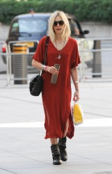 Fearne Cotton Seen at the BBC Radio 1 studios in London 07-31-2014