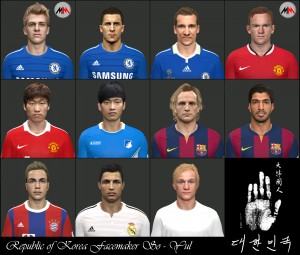Download PES 2014 Facepack International by So-Yul