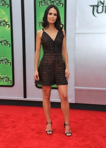Jordana Brewster – Teenage Mutant Ninja Turtles L.A. premiere