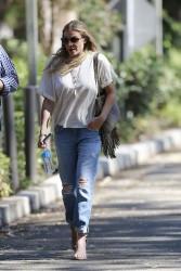 LeAnn Rimes arriving at Warner Brothers Studios in LA 08-05-2014