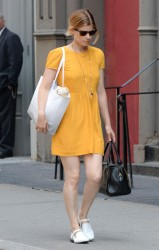 Kate Mara out shopping in New York 08-08-2014