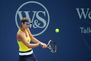 Julia Goerges @ Day 1 of the Western and Southern Open in Cincinnati - August 9-2014 x3