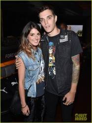 Shenae Grimes - At the Justin Timberlake Concert in LA 8/12/14